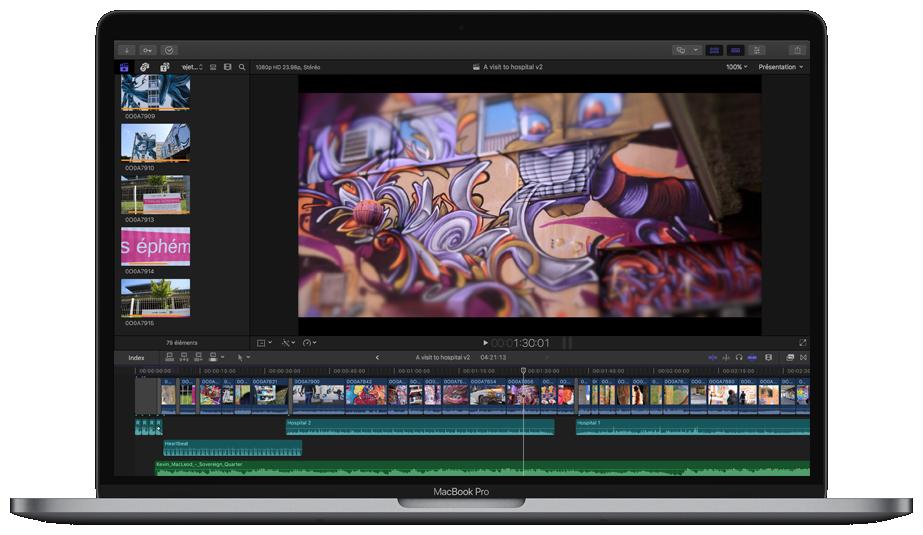 Réalisation de vidéo institutionnelles avec Final Cut Pro